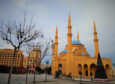 Image of Beirut at Christmas